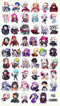 FATE/GRAND ORDER WAVE 2 CHARMS ON STORE!