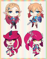 Breath of the Wild Charms by GRAVEWEAVER
