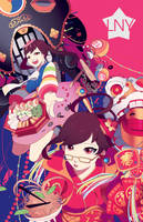 OVERWATCH: LUNAR NEW YEAR D.VA AND MEI by GRAVEWEAVER