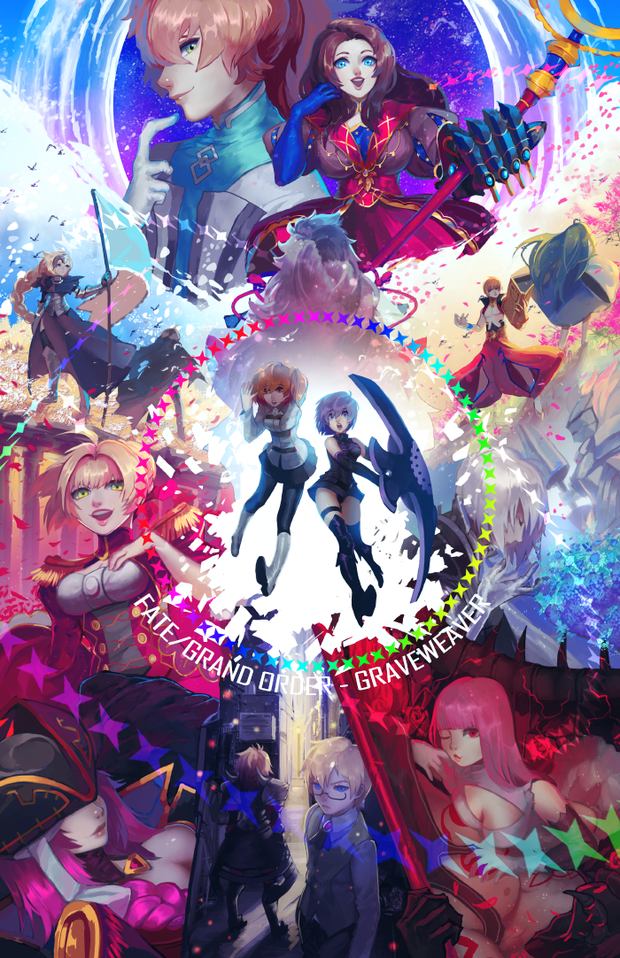 FATE / GRAND ORDER : SAVE THE WORLD by GRAVEWEAVER