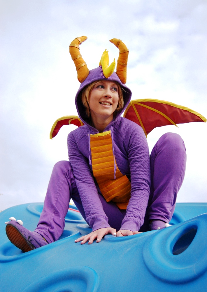 Spyro by Kudrel-Cosplay