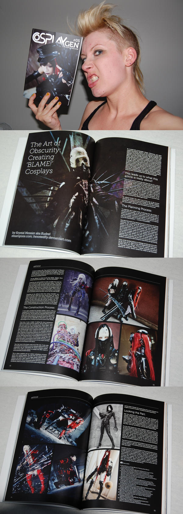 CosplayGen #5 BLAME! Article by Kudrel-Cosplay