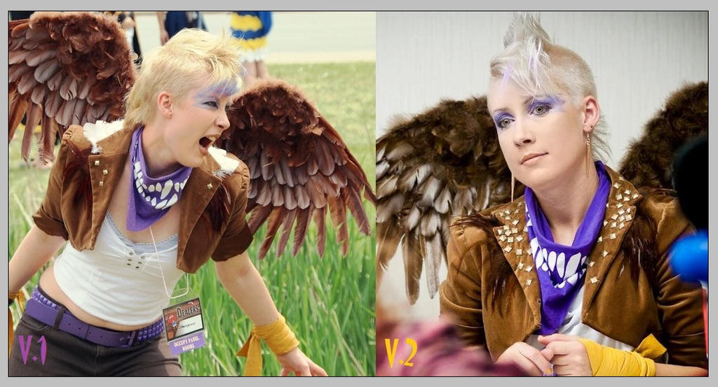 Gilda the Griffon- At first I RAWR'd but then I... by Kudrel-Cosplay