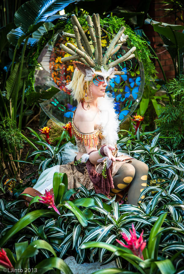 Spirit of the Forest by Kudrel-Cosplay