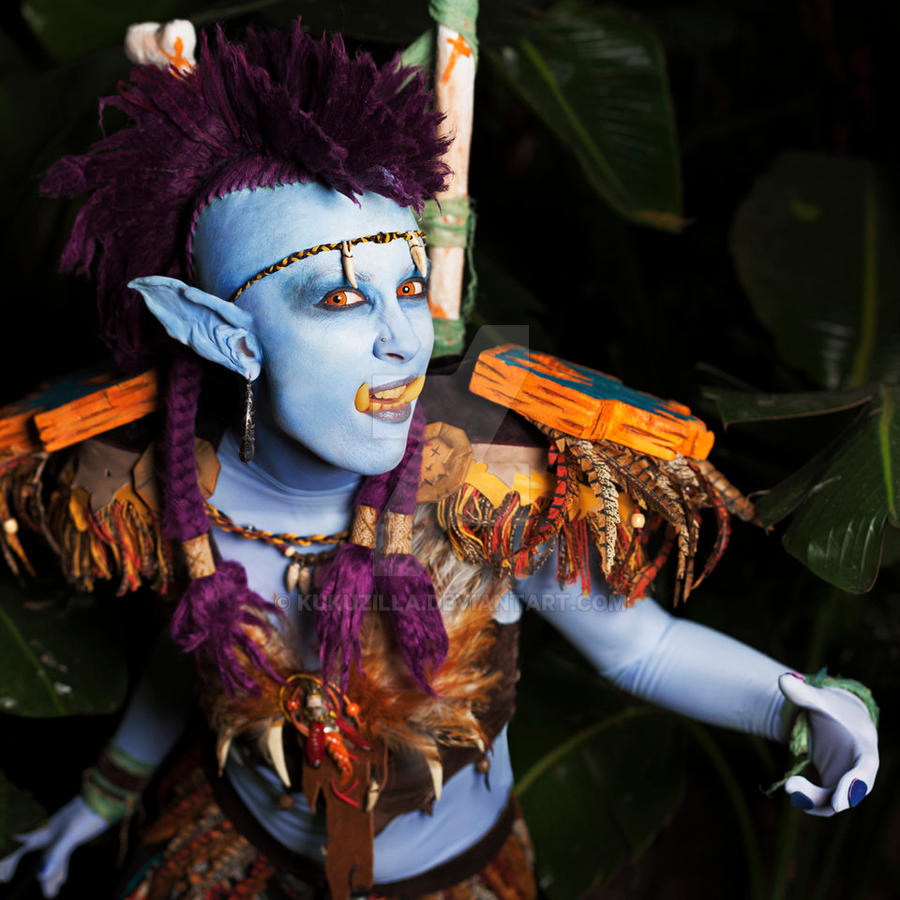 WoW Troll - Jungle Stalker by Kudrel-Cosplay