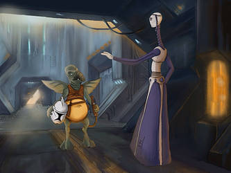 Watto's Request - final iPad painting by Sithjcull