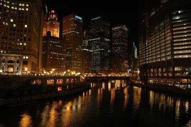 Chicago: Off the Bridge by Salemburn