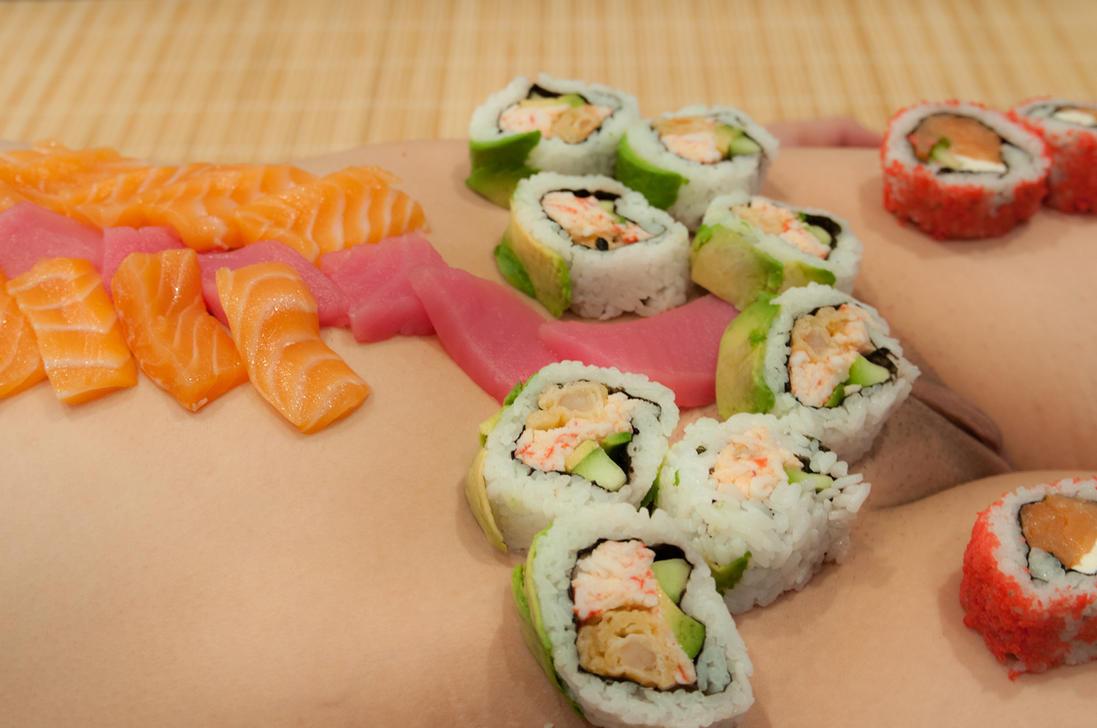 Sushi Girl 3 by Salemburn