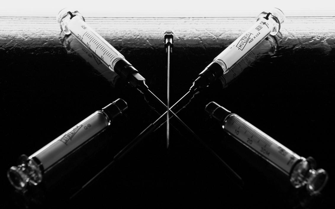 Criss Cross Hypodermic 2 by Salemburn