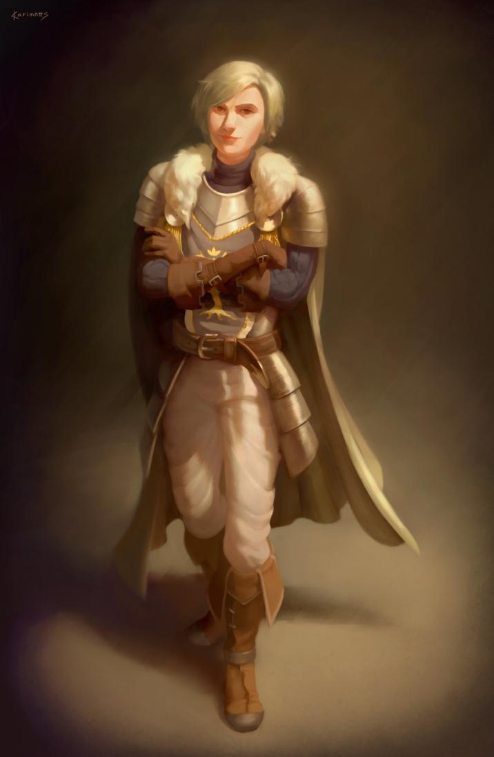 Full figure portrait commission