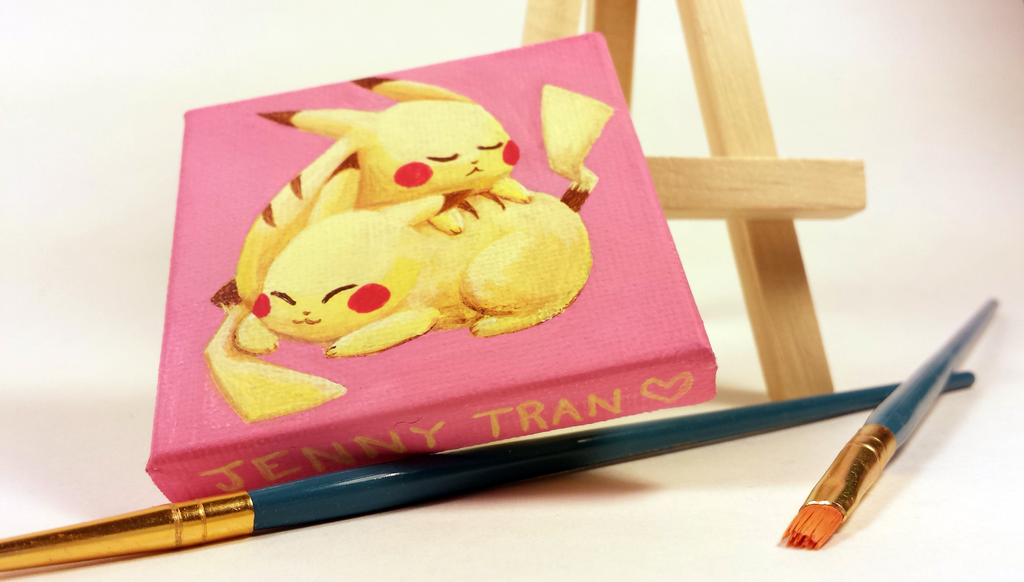 Pika stuff by bloominglove