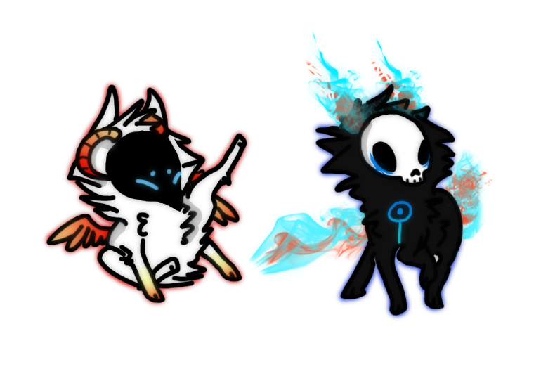 Little Mask Creature Adopts by DubQueen