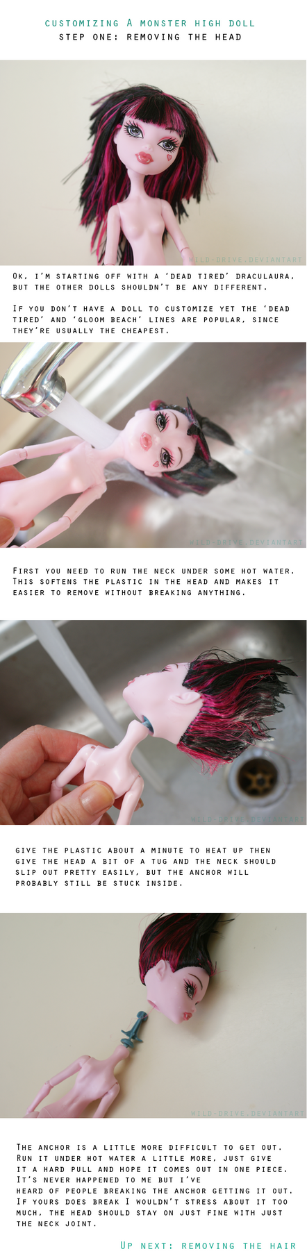 Customizing a MH Doll : Step One by wild-drive