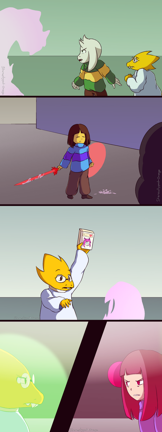Glitchtale Again by Stereotyped-Orange