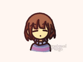 tiny hooman by Stereotyped-Orange