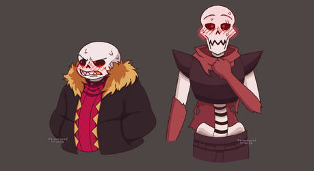 underfell skelebros expression meme E2 and C2 by Stereotyped-Orange