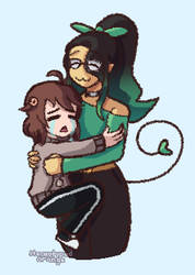my friend arci deserves all the hugs by Stereotyped-Orange