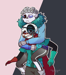 script and sixaten sans (for stars-sans tumblr) by Stereotyped-Orange