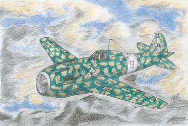 Aermacchi MC-208 ''Tuono'' by Medjoe