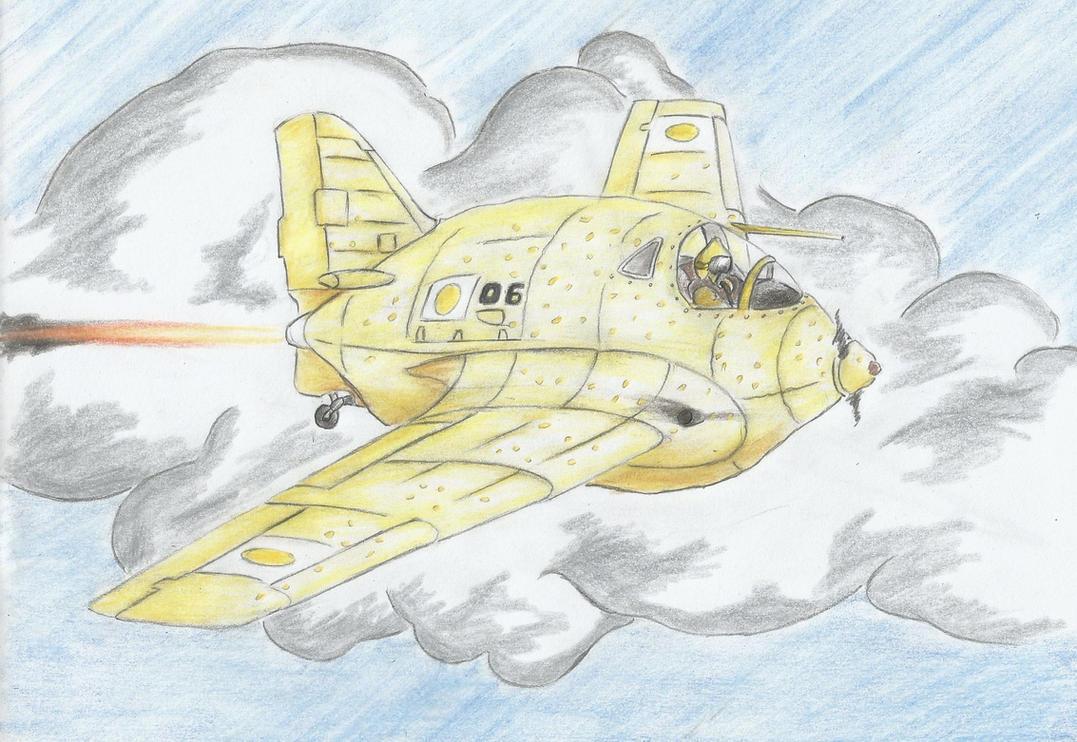 Messerschmitt Me 163Z ''Zitrone'' by Medjoe