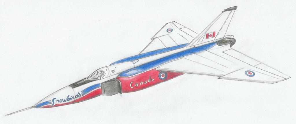 CF-105 Snowbirds by Medjoe