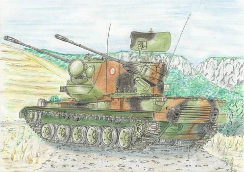 CAT-85 ''Scut'' SPAAG