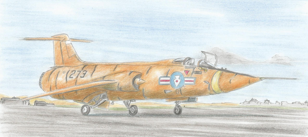 F-104C ''Starcarrot'' by Medjoe