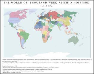 Thousand Week Reich mod - Official World Map