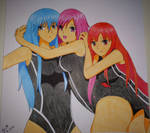 Nami, Momoko and Linda