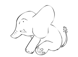 Elephant by Sammert22