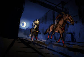 Street Steeds April/May Race Commission by Aliennor