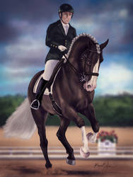 HARPG-Expo Advanced Dressage Entry by Aliennor