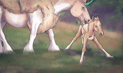 Aquillo|Foal Prompt 1 by Aliennor