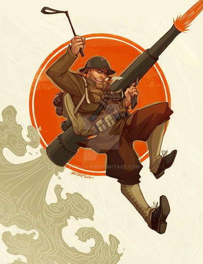 1920s Soldier by ramida-r