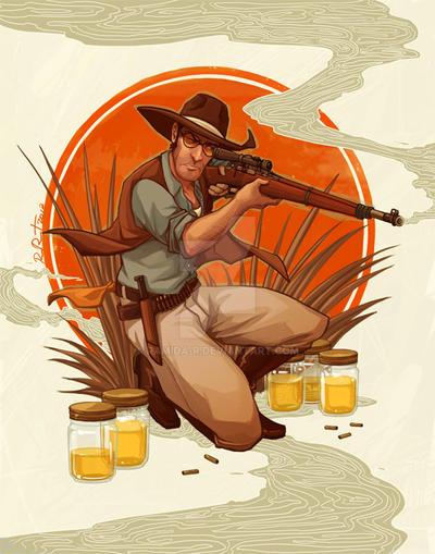 1920s Sniper by ramida-r