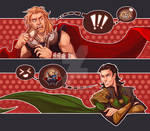 Thor Loki Crack Art