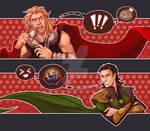 Thor Loki Crack Art