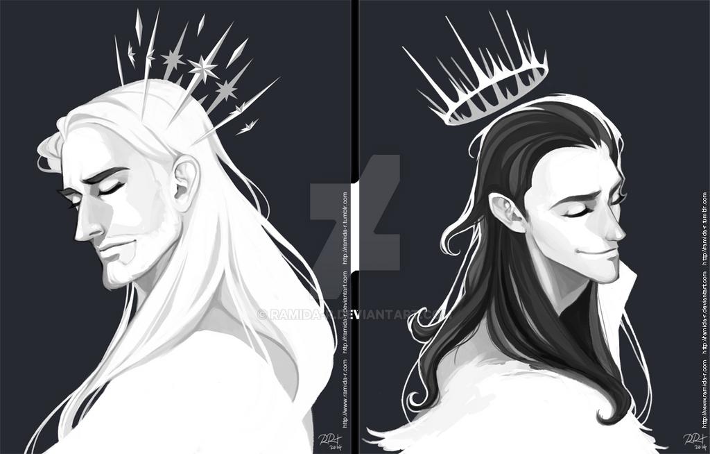 Thor and Loki Crowns by ramida-r