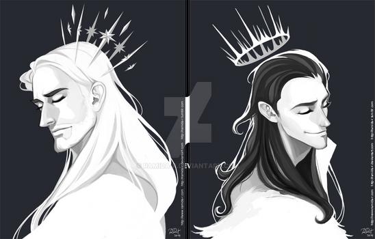 Thor and Loki Crowns