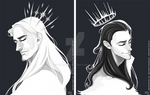 Thor and Loki Crowns
