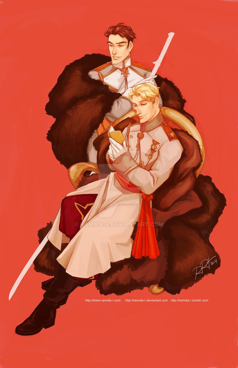 Two Princes by ramida-r