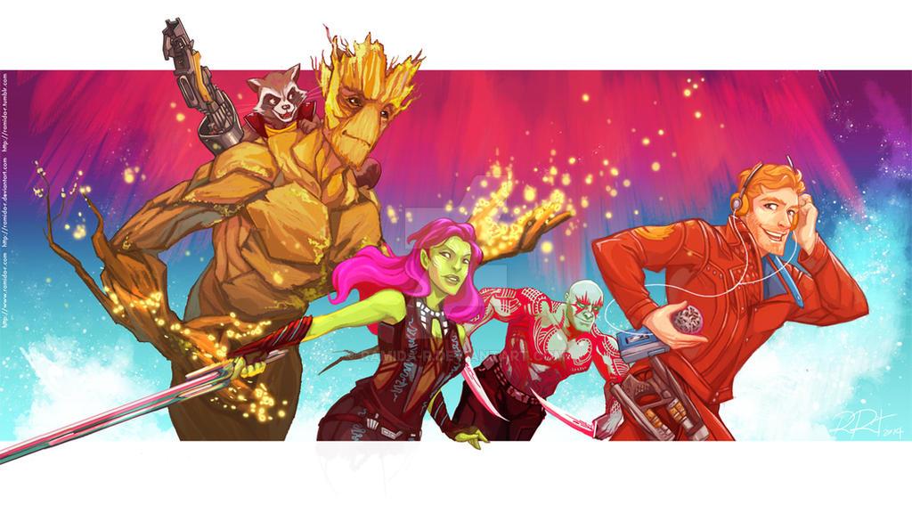 Guardians of the Galaxy by ramida-r
