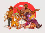 Point Overwatch AU: The Reyes Household