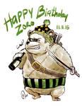 Happy Birthday Zobear 2015