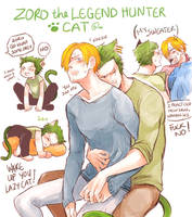 Zoro The Cat by Yuushishio