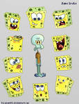 SpongeBobs......SpongeBobs everywhere......