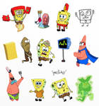 SpongeBob Sketch Dump