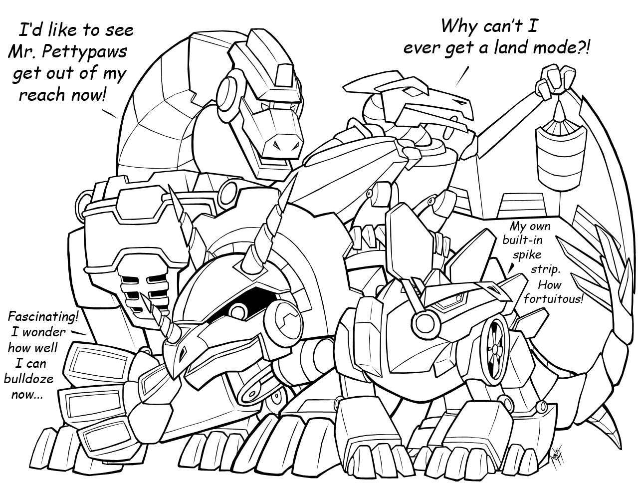 Rescue Bots Boulder Coloring Pages