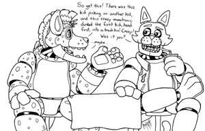 Crazy animatronics