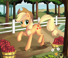 AJ by ponyKillerX
